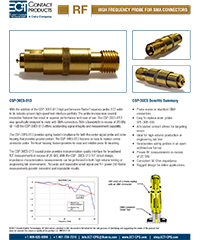 RF High Frequency Probe CSP-30ES-013 flyer