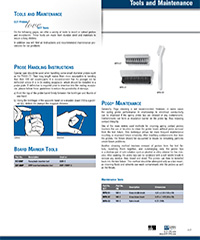 Maintenance and Tools