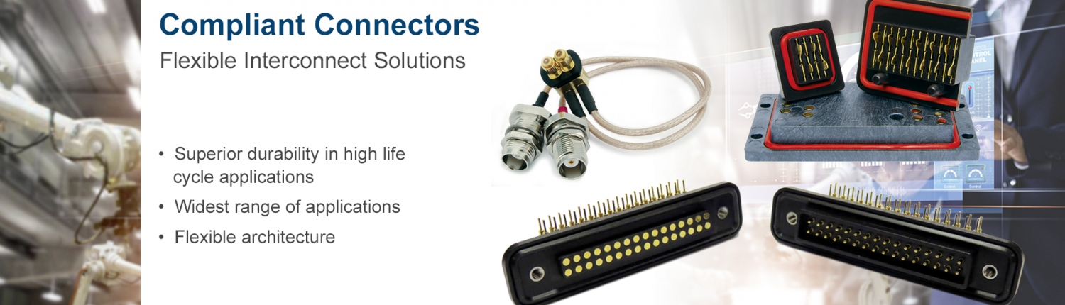 Click to learn more about Compliant connectors